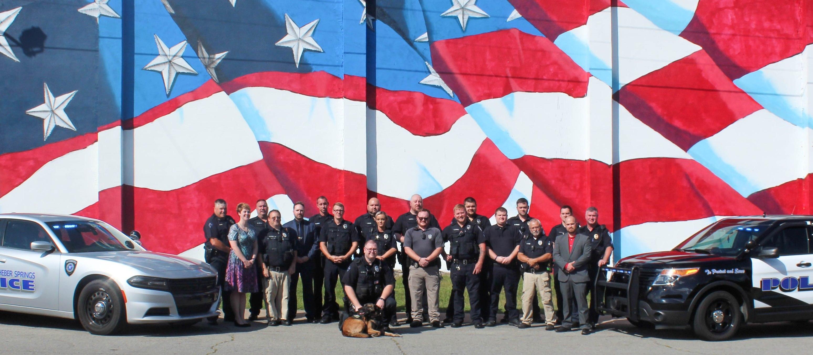 Heber Springs Police Department 2021