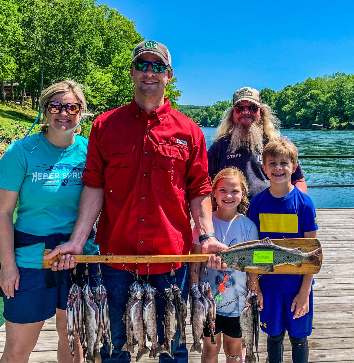 Family Fishing trip on the Little Red River